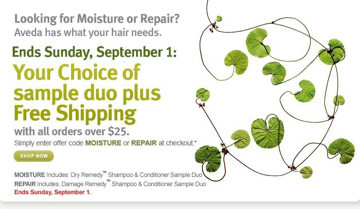 Ends Sunday, September 1: Your choice of sample duo plus free shipping. Shop now.