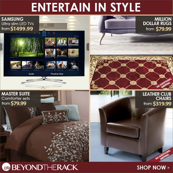 Entertain in Style