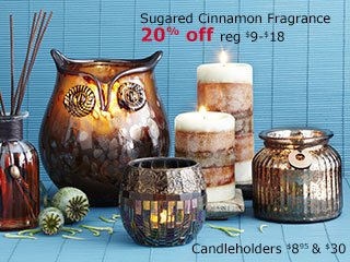 Sugared Cinnamon Fragrance 20% off