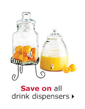 Save on all drink dispensers