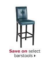 Save on select barstools