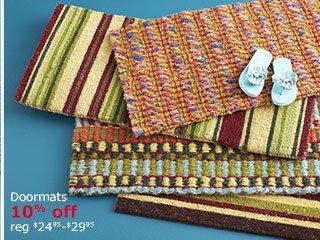 Doormats 10% off
