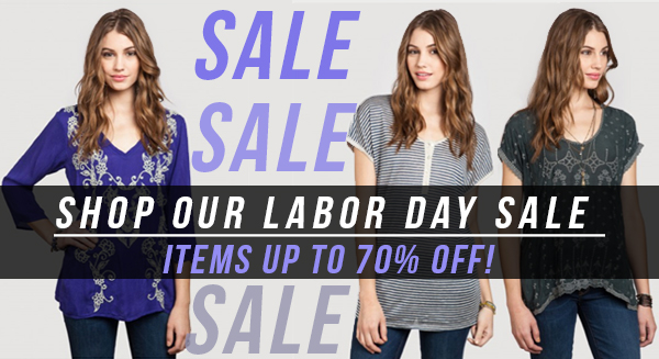 DON'T MISS OUT ON OUR LABOR DAY SALE!
