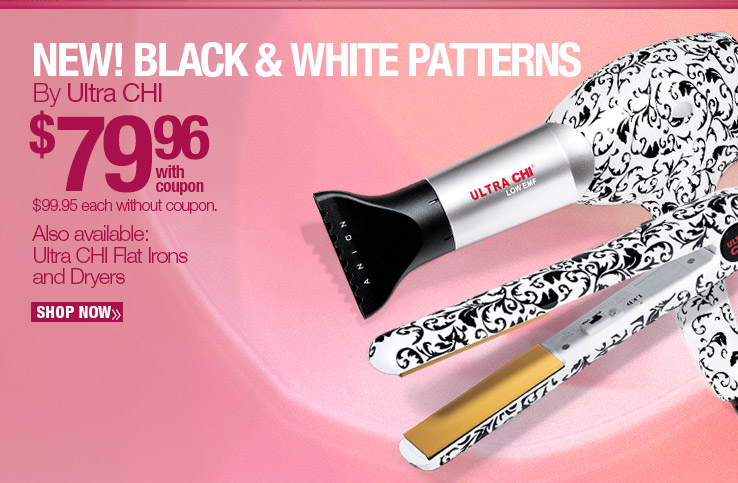 Ultra CHi New Black and White Patterns $79.96 each