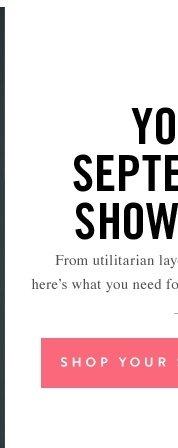 Your September Showroom