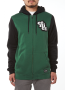 Niles Zip, Black/Green