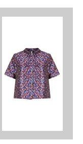 Camo Jacquard Shirt