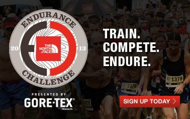 THE NORTH FACE ENDURANCE CHALLENGE 2013 - TRAIN. COMPETE. ENDURE. - SIGN UP TODAY