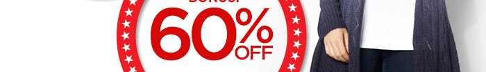 Labor Day Cyber Specials: 60%