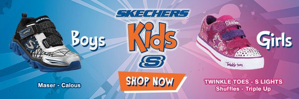 Skechers Kids! Shop now.
