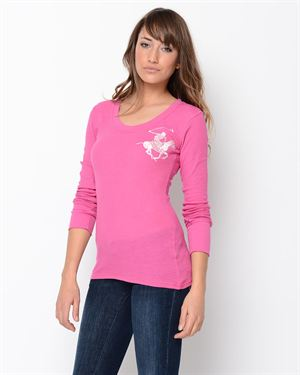Beverly Hills Polo Club Themal Logo Long Sleeve Shirt