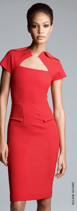 Fall Trend: RED, The New Neutral