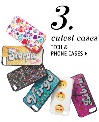 TECH & PHONE CASES