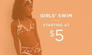 Girls' Swim Starting At $5 | Shop Now