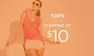 Tops Starting At $10 | Shop Now