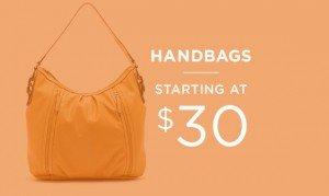 Handbags Starting At $30 | Shop Now