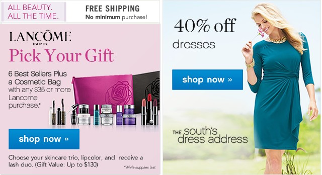 Lancome Pick Your Gift with any $35 or more Lancome purchase. Shop now.