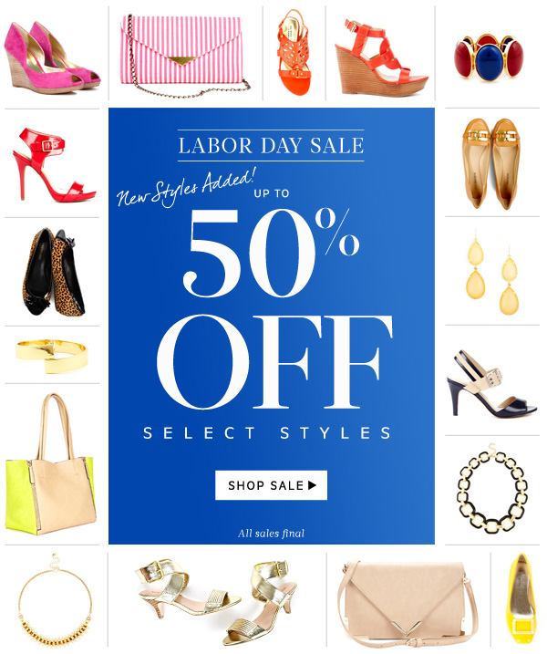 NEW STYLES ADDED! Up to 50% Off Select Styles