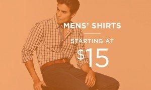 Men's Shirts Starting At $15 | Shop Now