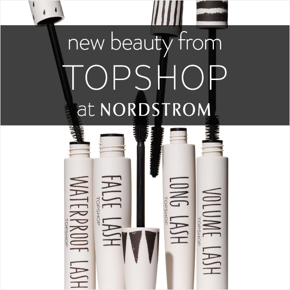 new beauty from TOPSHOP at NORDSTROM