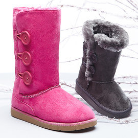Frosty Footprints: Girls' Shoes