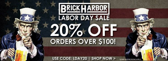 20% Off Orders Over $100 on Karmaloop's Skate Site Brick Harbor