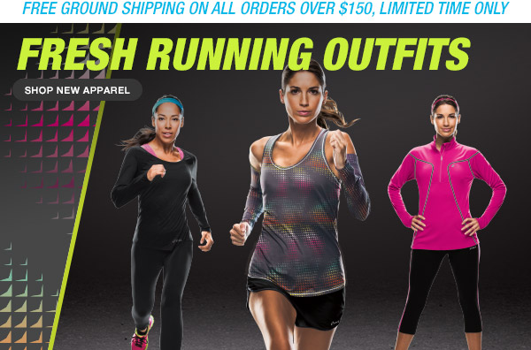 Shop Fresh Running Outfits - Hero
