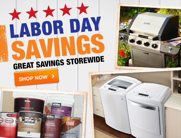 Labor Day savings.