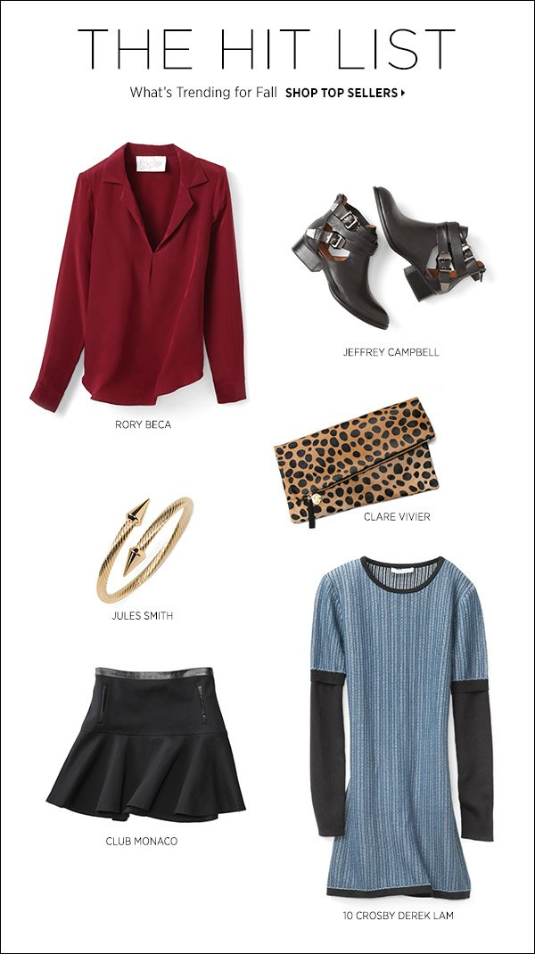 See what fellow fashion types are snapping up now in our Top Sellers edit. Shop now >>