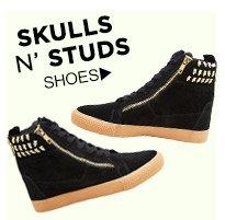 Skulls N' Studs! Shop Shoes