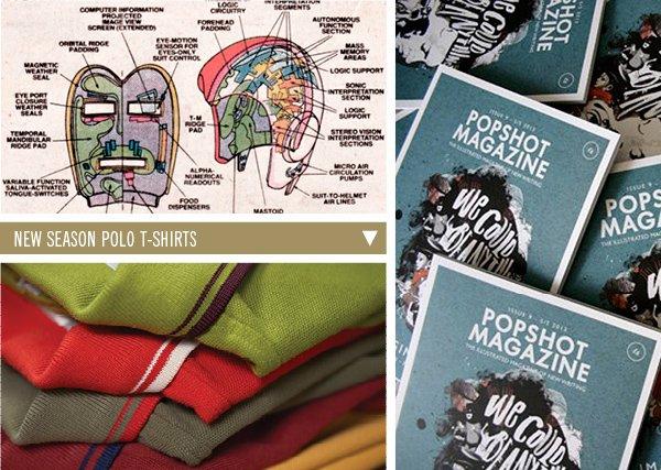 Popshot Magazine | New Season Polo T-Shirts