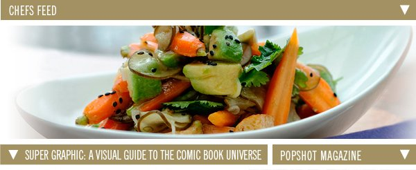 Chefs Feed | Super Graphic: A visual guide to the comic book universe