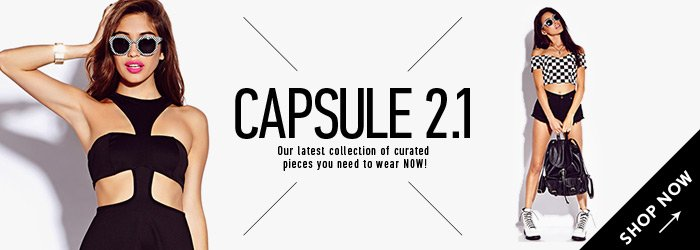 Capsule Collection - Shop Now