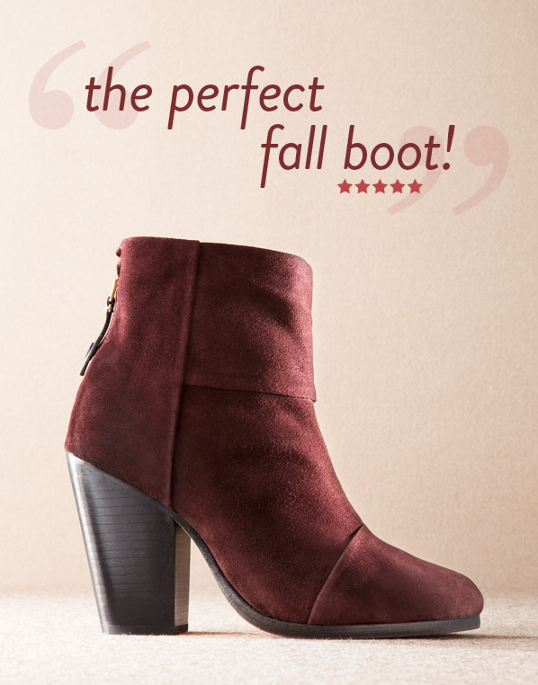 the perfect fall boot!