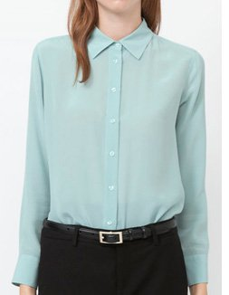 WOMEN SILK SHIRT
