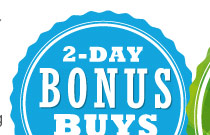 2-Day Bonus Buys