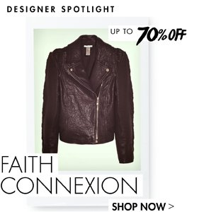 FAITH CONNEXION - UP TO 70% OFF