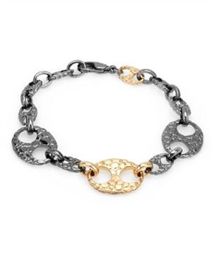 HELLMUTH Made In Germany Bracelet Crafted in Gold and Sterling Silver