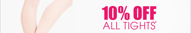 10% Off All Tights