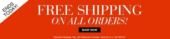 free shippingendstoday