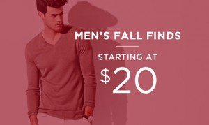 Men's Fall Finds Starting At $20 | Shop Now
