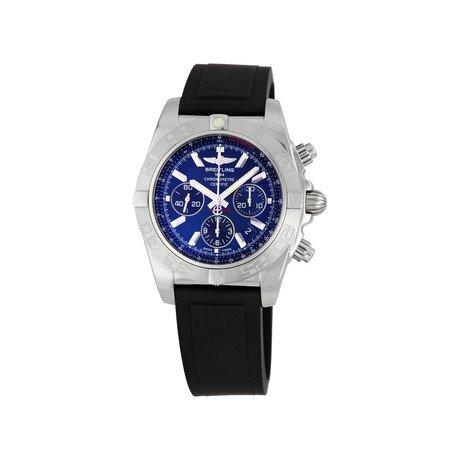 Chronomat // Blue Dial & Black Strap