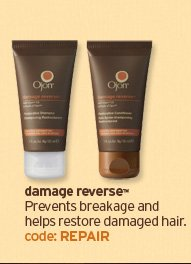 damage reverse Prevents breakage and helps restore damaged hair  code REPAIR