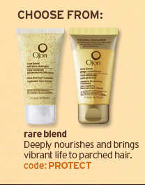 rare  blend Deeply nourishes and brings vibrant life to parched hair code  PROTECT