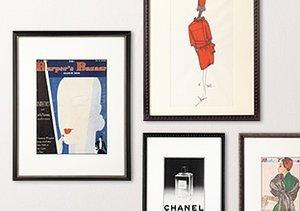 Fashionable Art: Harper's Bazaar, Hermes & More