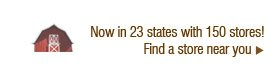 Now in 23 states with 150 stores! Find a store near you