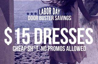 $15 Dresses