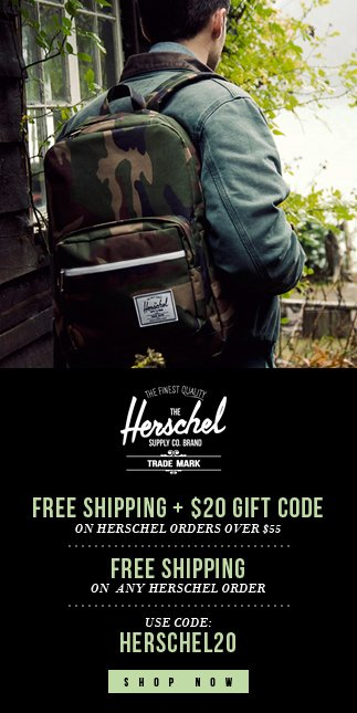 $20 Off + Free Ship on your next order