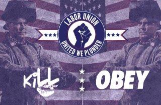 Kill Brand + Obey
