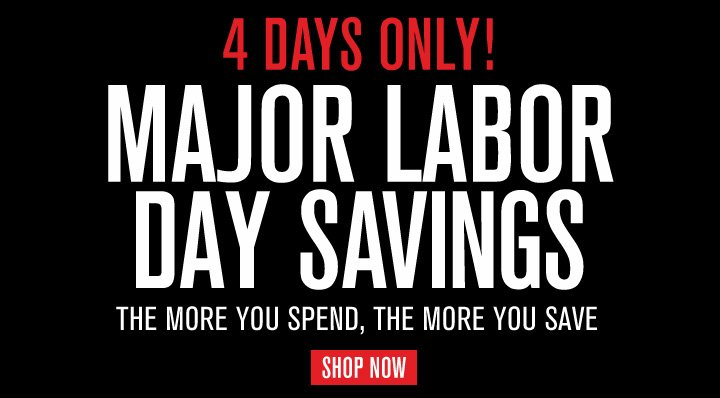 4 Days Only!